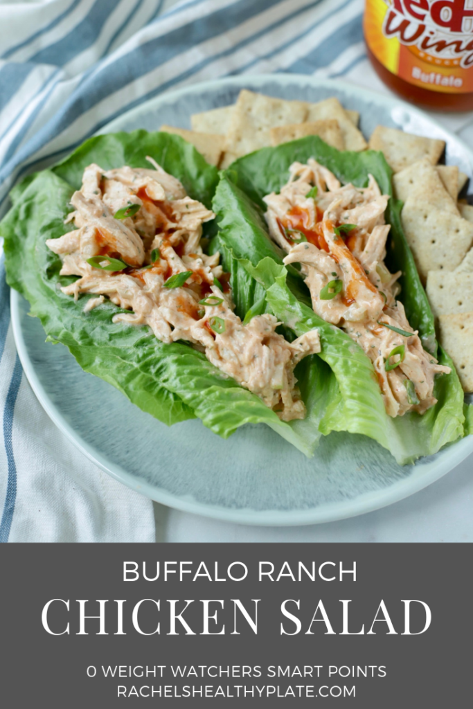 Buffalo Ranch Chicken Salad Rachel S Healthy Plate