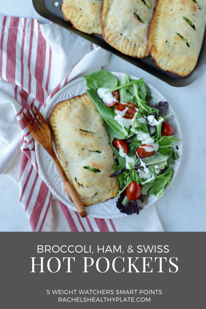 Broccoli Ham And Swiss Hot Pockets Rachels Healthy Plate